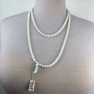 "NWT Belle De Mare 54"" Freshwater Pearl Necklace"